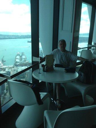 Sky Tower : pause café