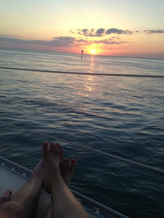 Key Sailing: Sunset