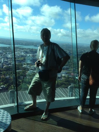 Sky Tower: plate forme panoramique