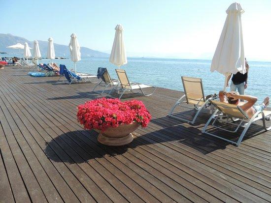 Kontokali Bay Resort and Spa: Ponton