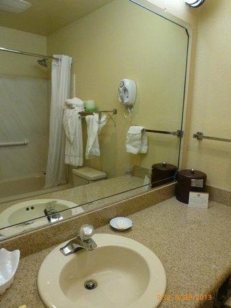 Best Western Plus Colony Inn: Salle de bains