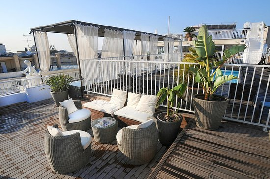 Splendid Hotel & Spa: Rooftop terrace