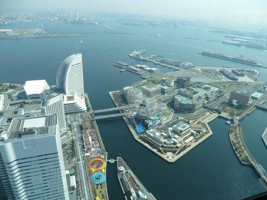 The Landmark Tower Yokohama Sky Garden : Вид с обзорной площадки