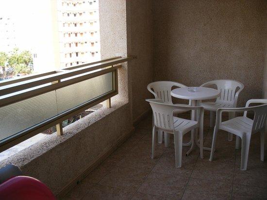 Kn Columbus Aparthotel: balkon