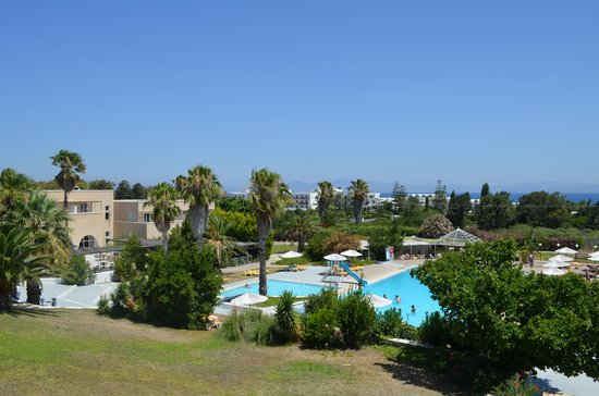 Archipelagos Hotel: vue du balcon