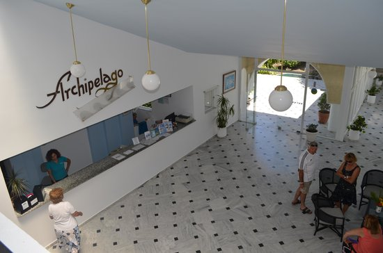 Archipelagos Hotel: reception