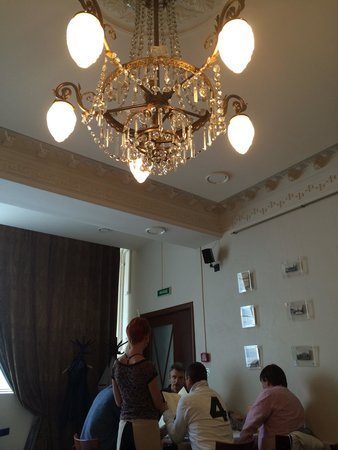 The Brothers Karamazov Hotel: Hotel restaurant during lunch time