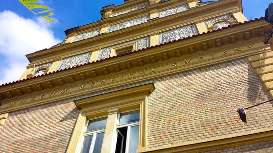 Bedrich Smetana Museum : Up close shot of the front of the building