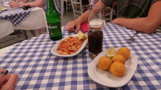 Manolis Taverna : gamberetti