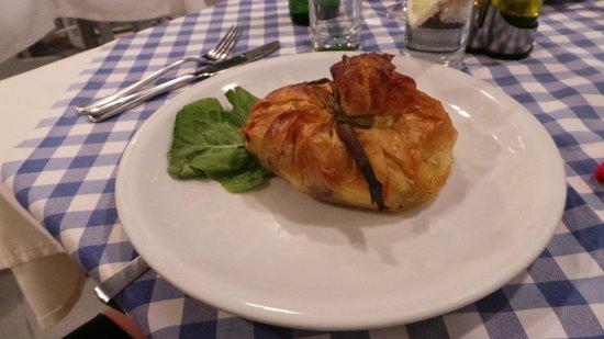 Manolis Taverna : specialità con agnello e patate