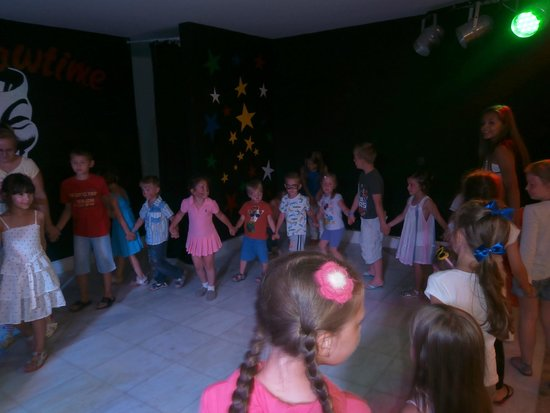 Mitsis Serita Beach Hotel: Mini disco