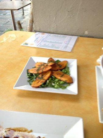 Punto de Vista Restaurant & Bar: Sweet plantains