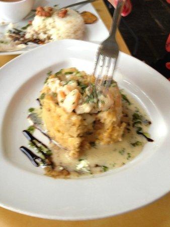 Punto de Vista Restaurant & Bar: Monfongo ~ sorry couldn't wait for photo before diving in!