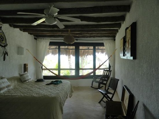 Beachfront Hotel La Palapa: Habitación con un gran estilo