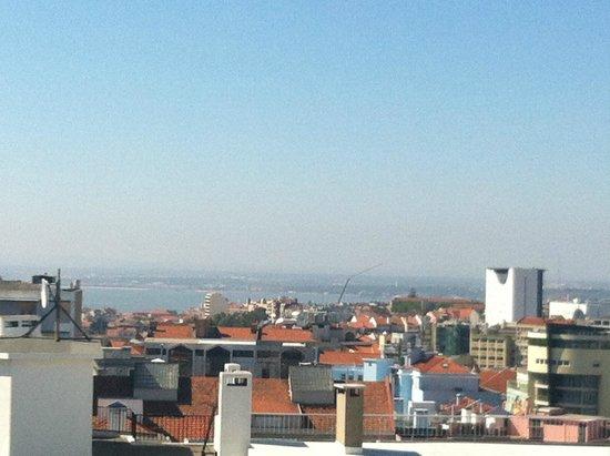 Holiday Inn Lisbon : Óptima vista