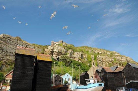 Hastings, Net Huts and Cliff Railway