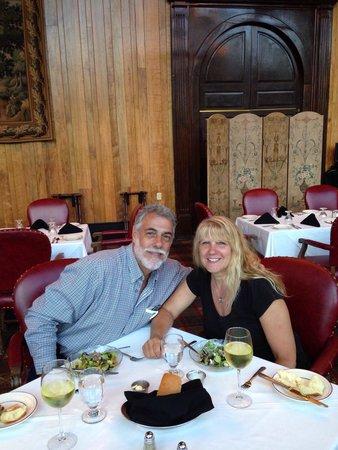 Kingwood Country Club & Resort: Wonderful dinner at the Lodge Restaurant at Kingwood .