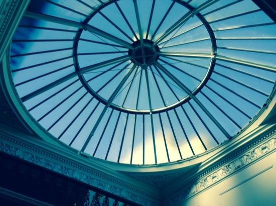 The Grand Brighton : Glass Dome Roof