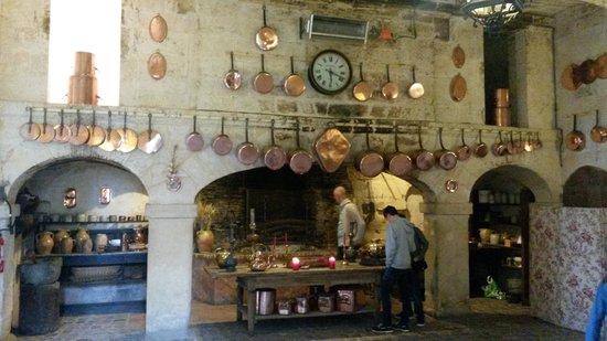 Château de Brissac : la grande cuisine