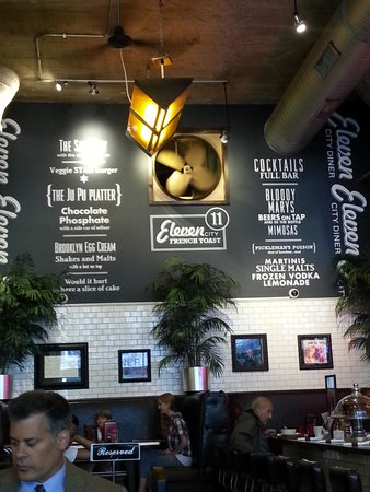 menu names - Picture of Eleven City Diner, Chicago - TripAdvisor
