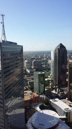 The Adolphus: Dallas downtown skyline