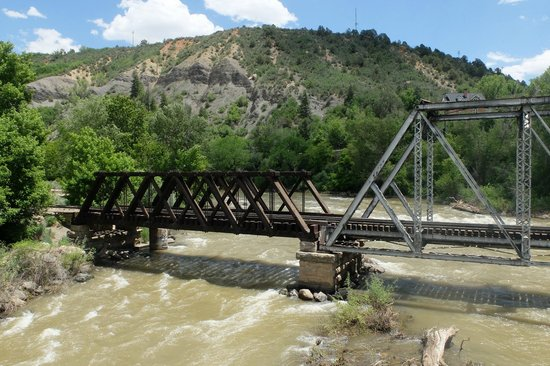 Animas River Trail: Railway Bridge