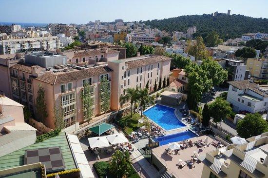 View from room picture of hotel isla mallorca spa - Spas palma de mallorca ...