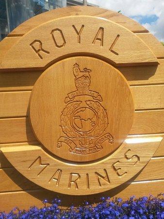 Portsmouth Historic Dockyard: Royal Marines 350th anniversary