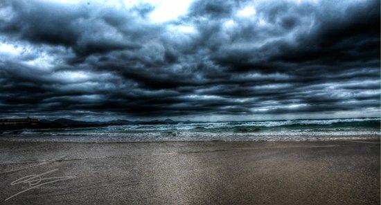 Corralejo Dunes: The beach at correlejo