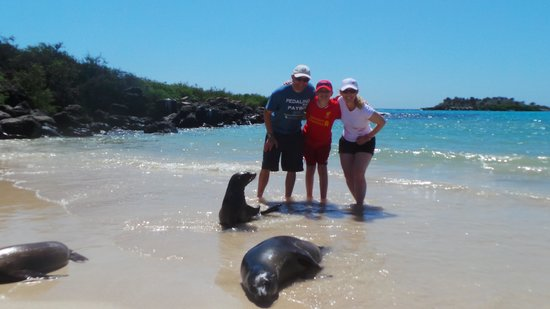 Finch Bay Galapagos Hotel: Amazing Sea Lions