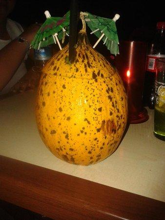 Limak Atlantis Deluxe Hotel & Resort: Melon drink from Recep.