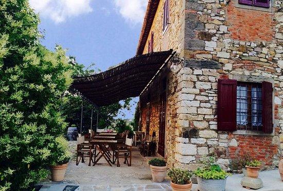 Ancora del Chianti Eco BB & Art Retreat in Tuscany : Breakfast area