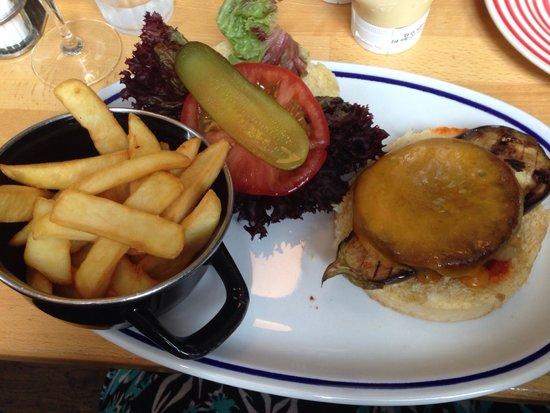 Houtsiplou: Quorn burger
