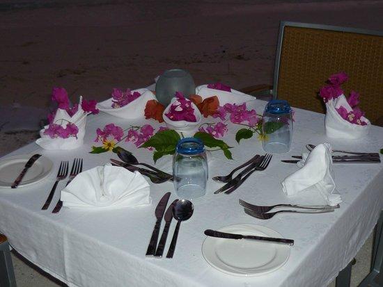 Vilamendhoo Island Resort & Spa: Bei Geburtstagen und Flitterwochen