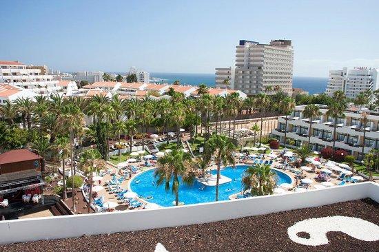 Iberostar Las Dalias : Widok z balkonu 6 piętro od strony basenu