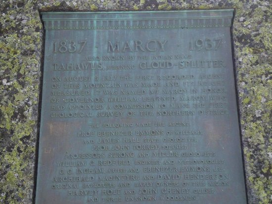 Mount Marcy : Summit History