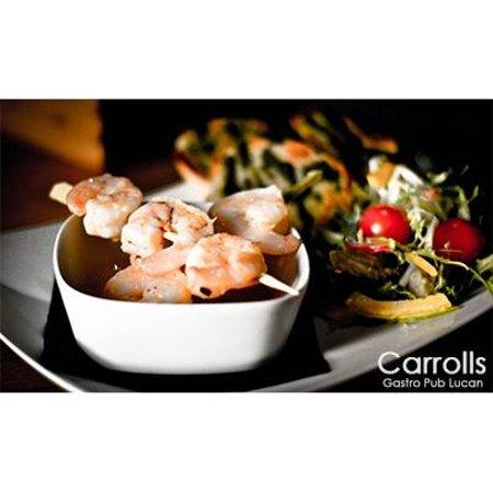 Carrolls Gastropub: Prawns