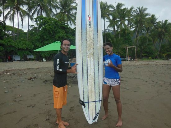 Sunset Surf Dominical - Day Lessons: Surfing in Dominical - July 2014