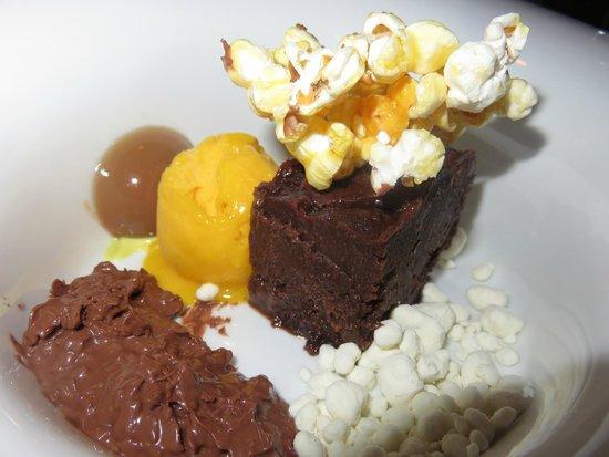 Mylos Bar Restaurant: Fondant au chocolat