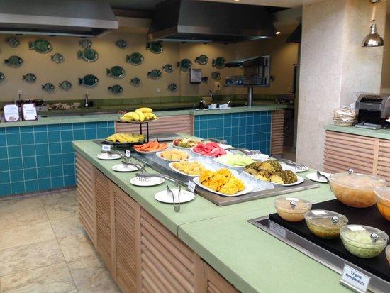 Rendezvous Resort : Buffet Area