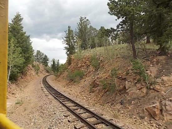 Cripple Creek & Victor Narrow Gauge Railroad: View of railroad