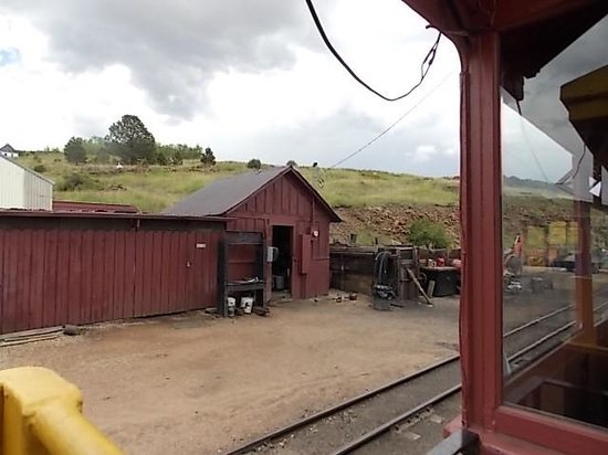 Cripple Creek & Victor Narrow Gauge Railroad: View from train before the ride