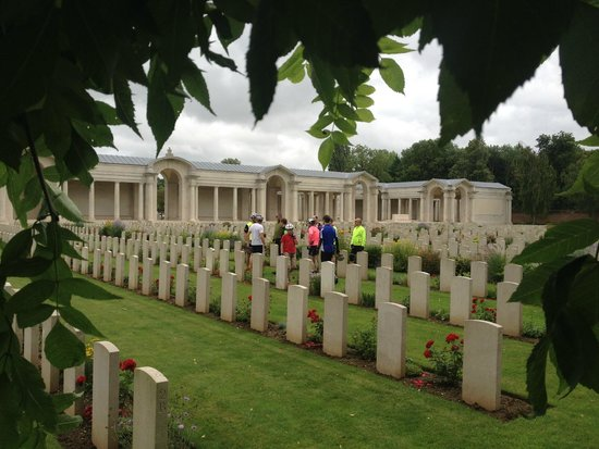WW1 Tours: Interesting and sombre insights at the Arras Memorial