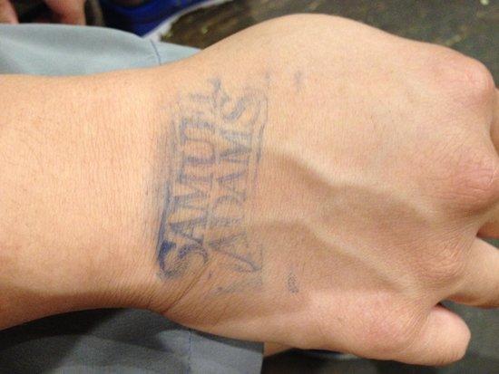 Samuel Adams Brewery : Sam Adams stamp