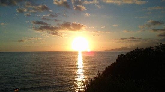 Residence B&B Eco del Mare: il tramonto dalla nostra stanza