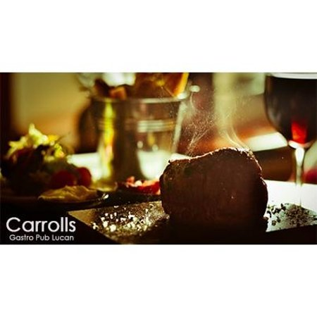 Carrolls Gastropub: Steak on the stone