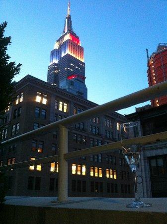 terrace room view picture of the roger new york city tripadvisor rh tripadvisor com
