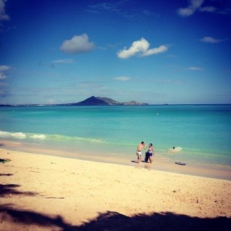 Kailua Beach Park: Senza parole...
