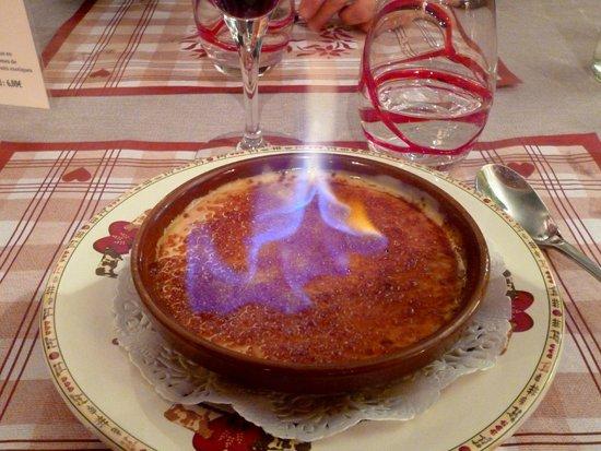 Le Gavroche: une véritable crème brulée
