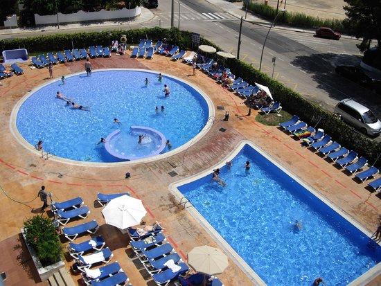Nuba Hotel Coma-ruga: Vista desde la terraza 2